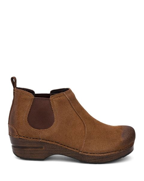 Picture of Frankie Brown Burnished Suede