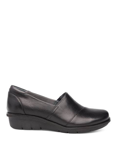 Dansko Julia Black Milled Nappa Shoe 0U0Usow