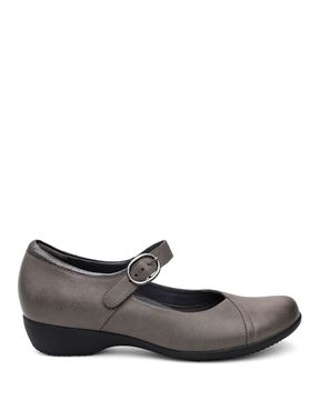 Picture of Fawna Grey Burnished Nappa