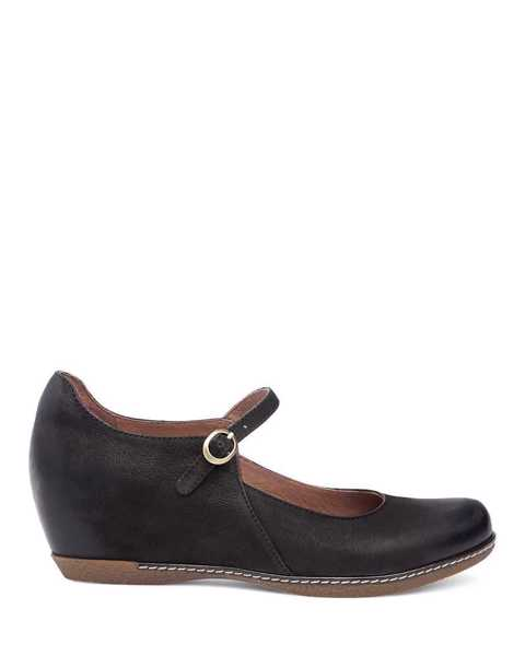 Picture of Loralie Black Burnished Nubuck