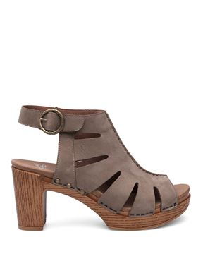 Picture of Demetra Taupe Milled Nubuck