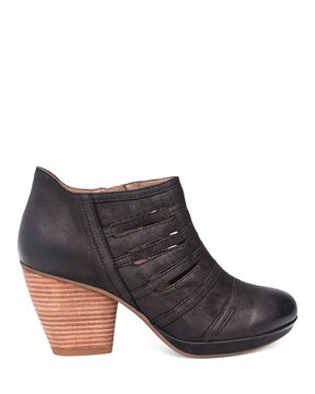 Picture of Meadow Black Burnished Nubuck