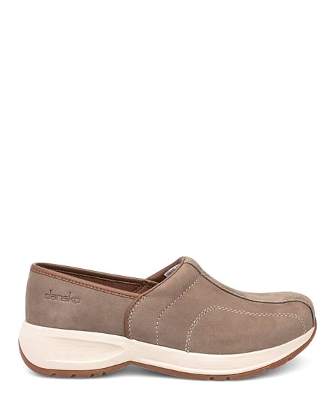Picture of Shaina Taupe Milled Nubuck