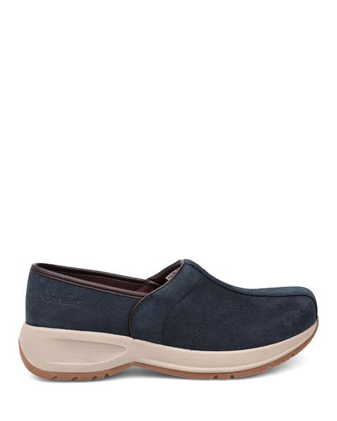 Picture of Shaina Navy Milled Nubuck