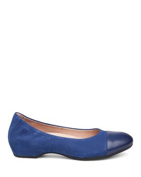 Picture of Lisanne Blue Milled Nubuck