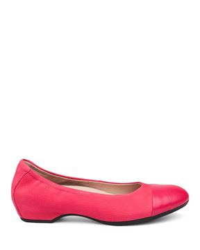 Picture of Lisanne Raspberry Milled Nubuck