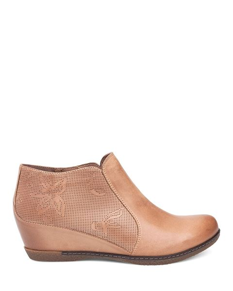 Picture of Luann Taupe Burnished Nubuck