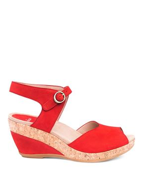 Picture of Charlotte Tomato Milled Nubuck