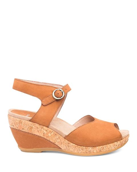 Picture of Charlotte Camel Milled Nubuck
