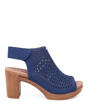Picture of Danae Blue Milled Nubuck
