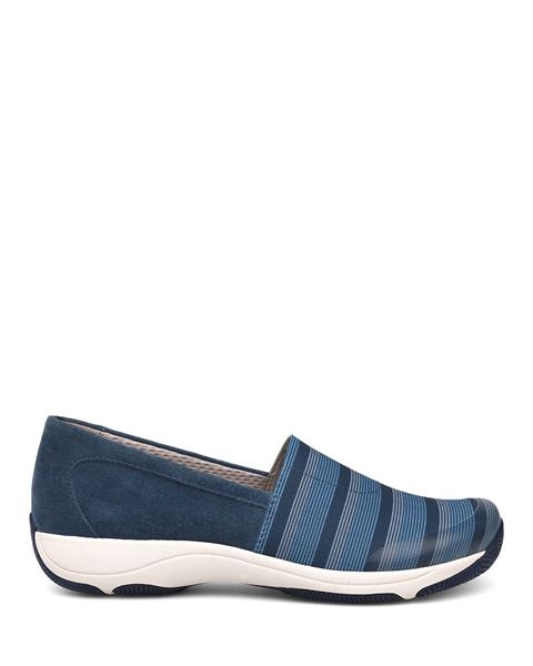 Picture of Harriet Blue Stretch/Suede