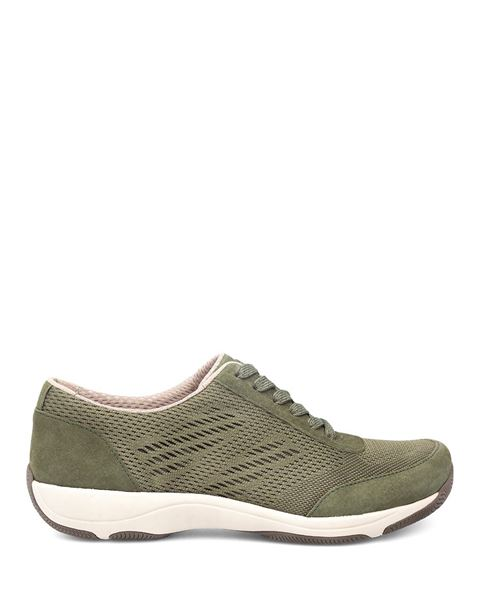 Picture of Hayes Olive Suede