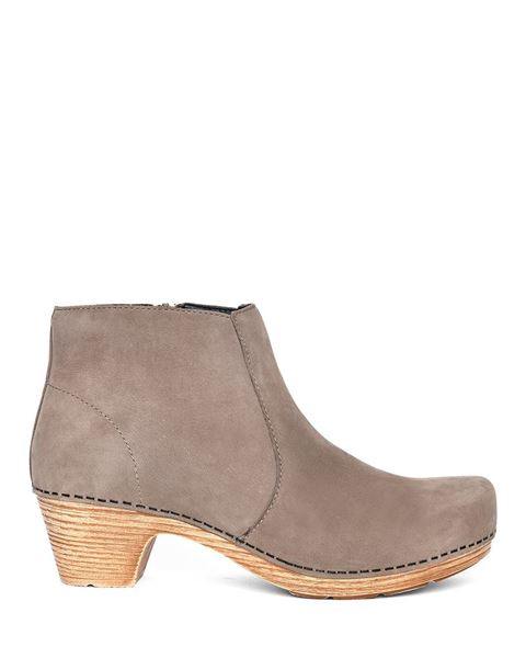 Picture of Maria Taupe Milled Nubuck