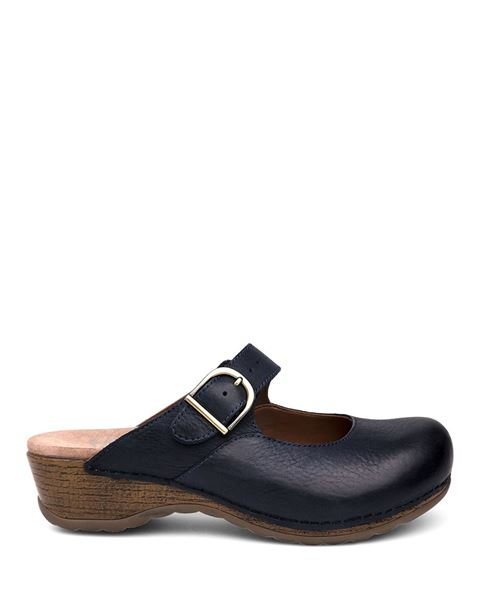 Picture of Martina Navy Burnished Nubuck