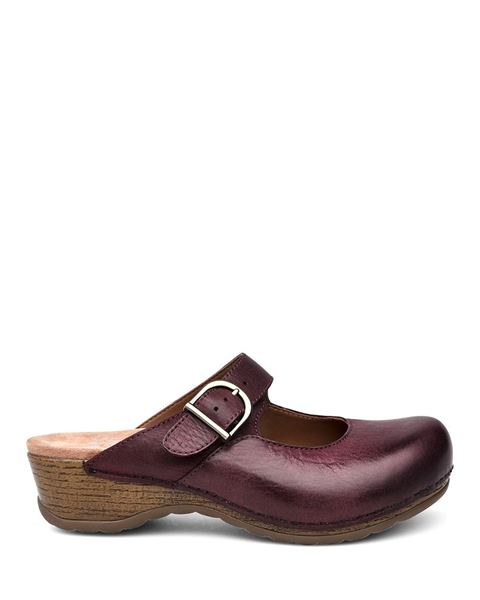 Picture of Martina Wine Burnished Nubuck