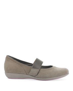 Picture of Kendra Taupe Milled Nubuck