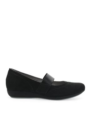 Picture of Kendra Black Milled Nubuck