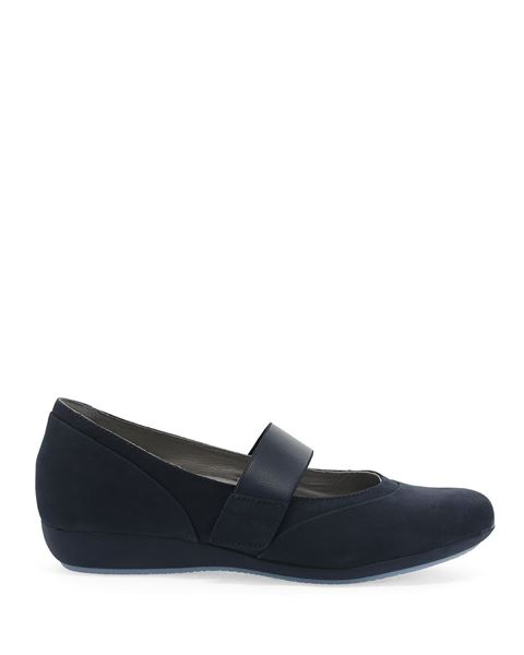 Picture of Kendra Navy Milled Nubuck