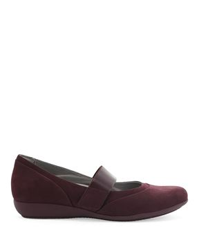 Picture of Kendra Wine Milled Nubuck