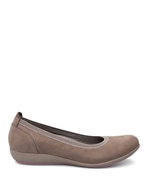 Picture of Kristen Taupe Milled Nubuck