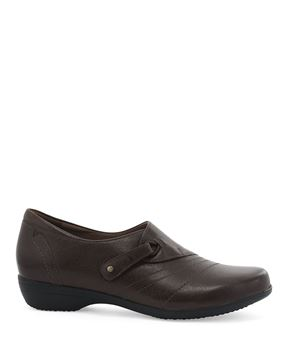 Picture of Franny Chocolate Burnished Calf