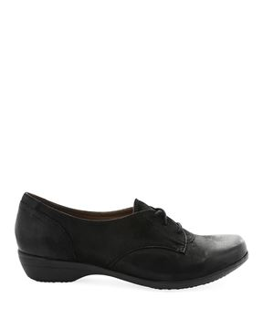 Picture of Fallon Black Burnished Nubuck