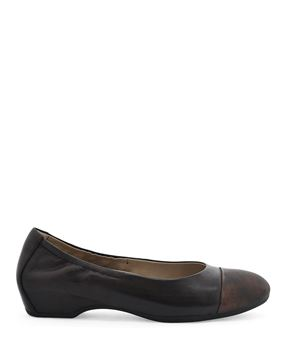 Picture of Lisanne Chocolate Burnished Nubuck