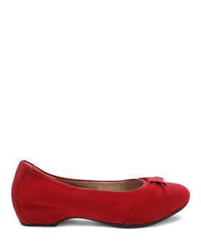 Picture of Lina Red Kid Suede