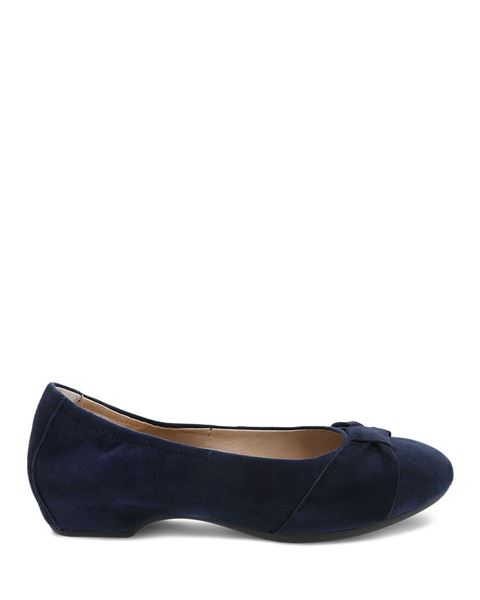 Picture of Lina Navy Kid Suede