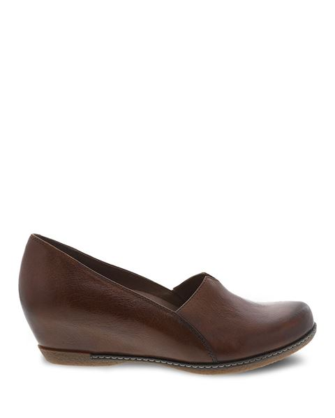 Picture of Liliana Chestnut Burnished Calf
