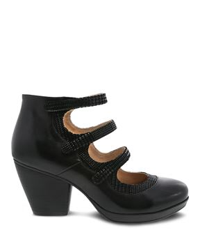 Picture of Marlene Black Burnished Calf