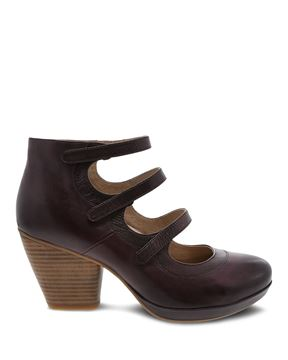 Picture of Marlene Wine Burnished Calf