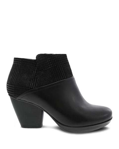 Picture of Miley Black Burnished Calf