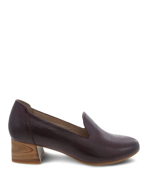 Picture of Preston Wine Burnished Nubuck