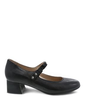 Picture of Pearlina Black Burnished Nubuck