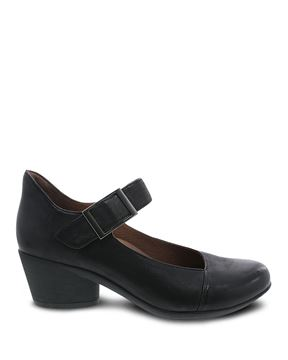 Picture of Roxanne Black Burnished Nubuck