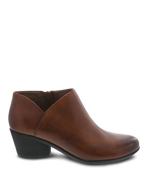 Picture of Raina Chestnut Burnished Calf