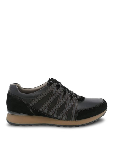 Picture of Gabi Black Burnished Nubuck