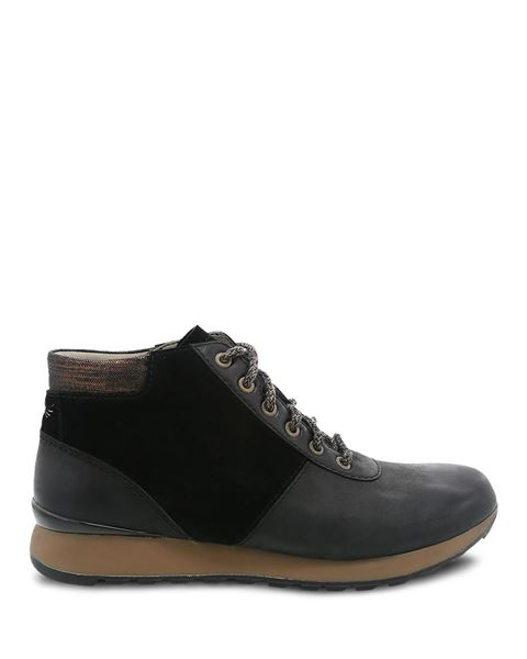 Picture of Ginny Black Burnished Nubuck