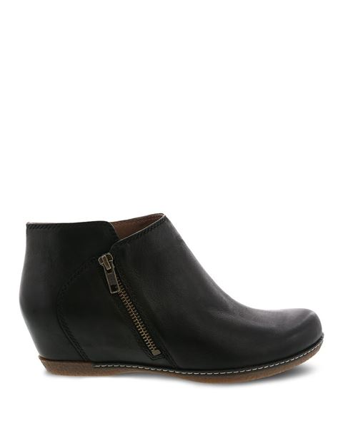 Picture of Leyla Black Burnished Nubuck