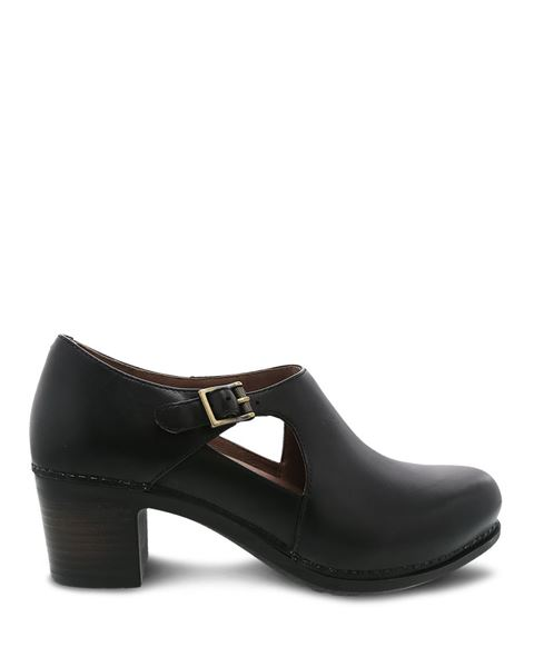 Picture of Hollie Black Burnished Calf