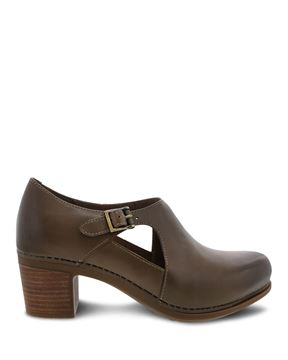 Picture of Hollie Taupe Burnished Calf