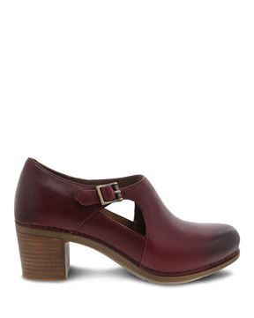 Picture of Hollie Wine Burnished Calf