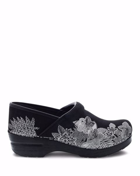 Picture of Professional Metallic Floral Nubuck