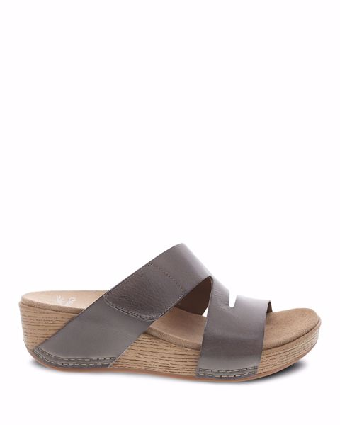 Picture of Lacee Taupe Burnished Calf