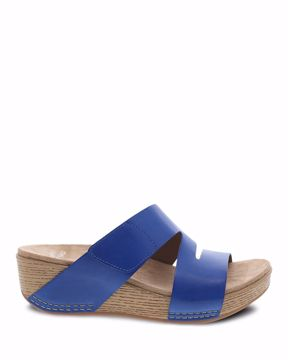 Picture of Lacee Cobalt Burnished Calf