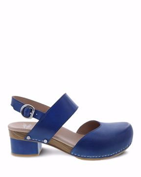 Picture of Malin Cobalt Burnished Calf