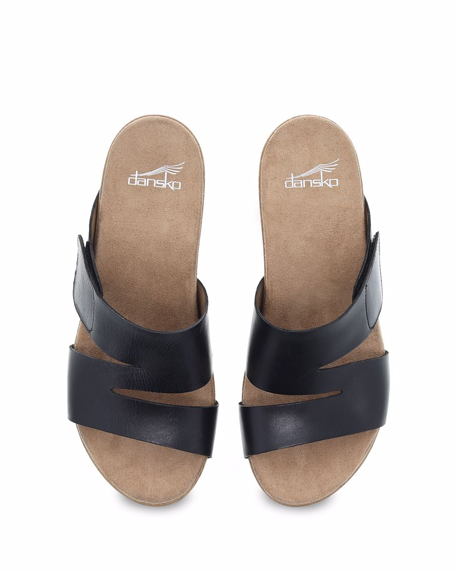 Picture of Lacee Black Burnished Calf