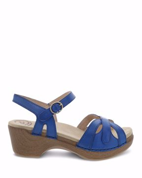 Picture of Season Cobalt Burnished Calf