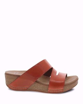 Picture of Lacee Coral Burnished Calf